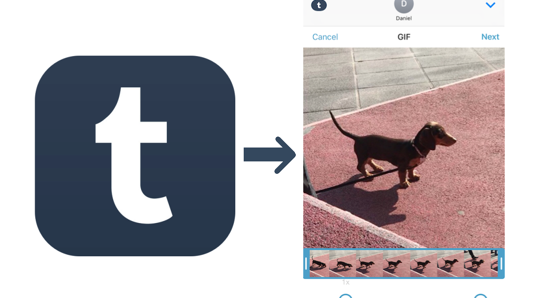 How to quickly create fun GIFs in iMessage using the Tumblr app