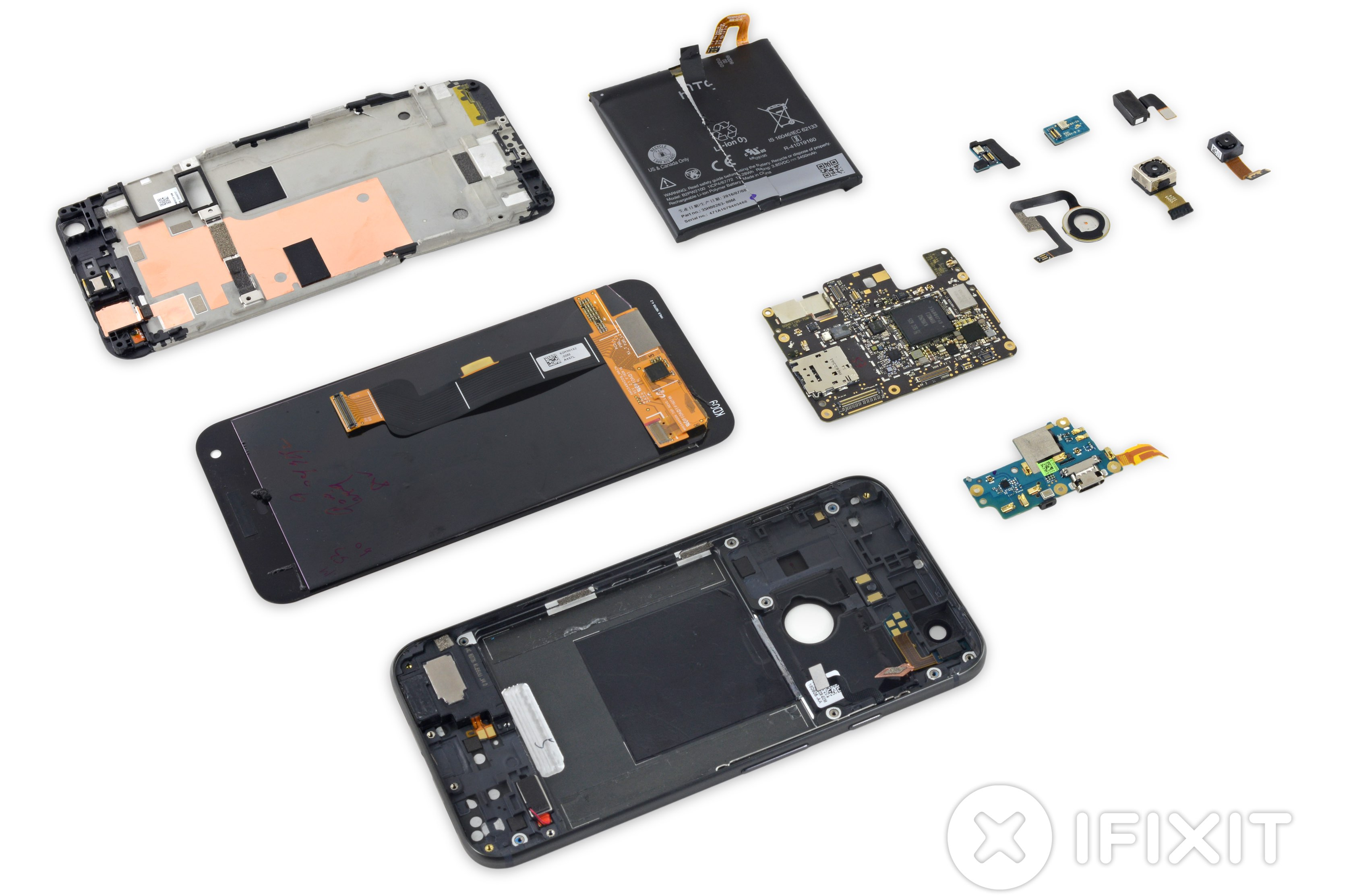 Google Pixel XL iFixIt teardown 005