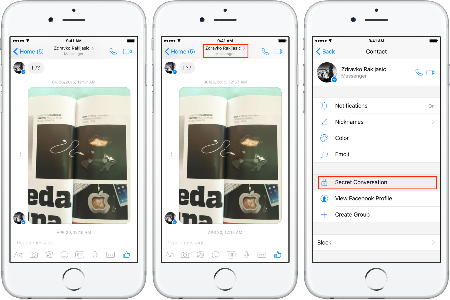 How to get gif back on facebook messenger iphone