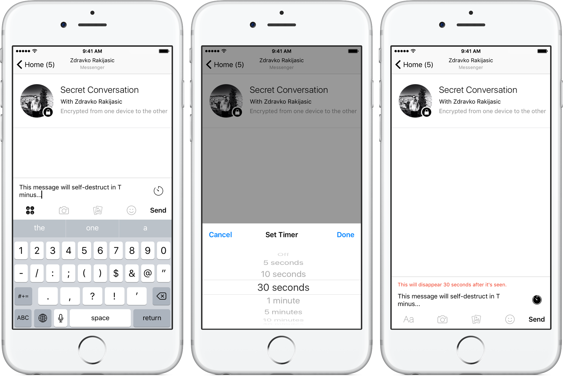 How to enable and use Secret Conversations in Facebook Messenger