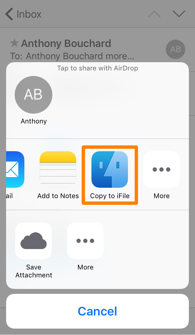 Installing Deb File Copy to iFile