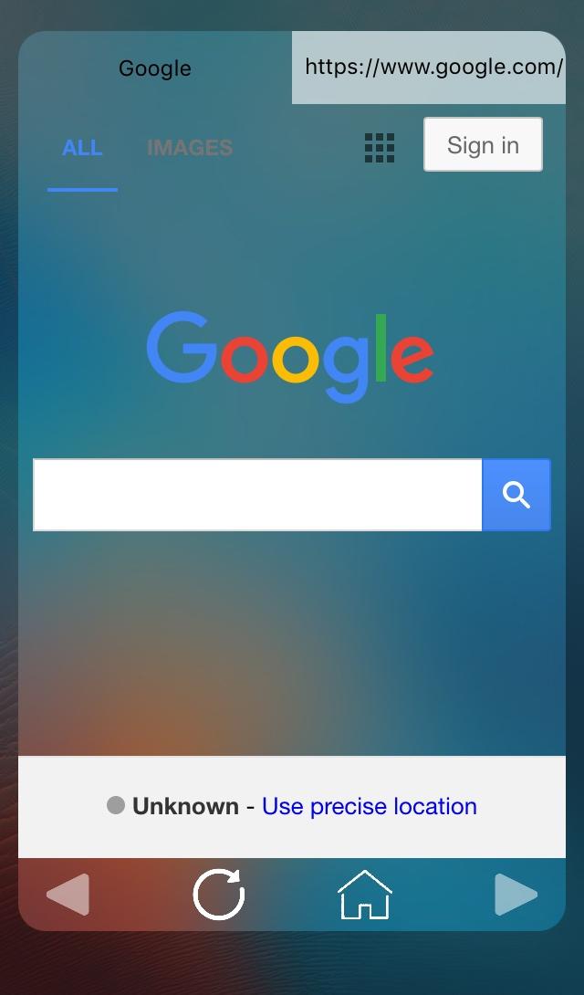 LockBrowser Google Website