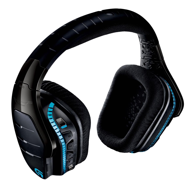 Logitech's G933 wireless surround sound headset takes