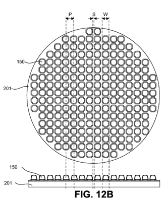 LuxVue Micro-LED patent drawing 001