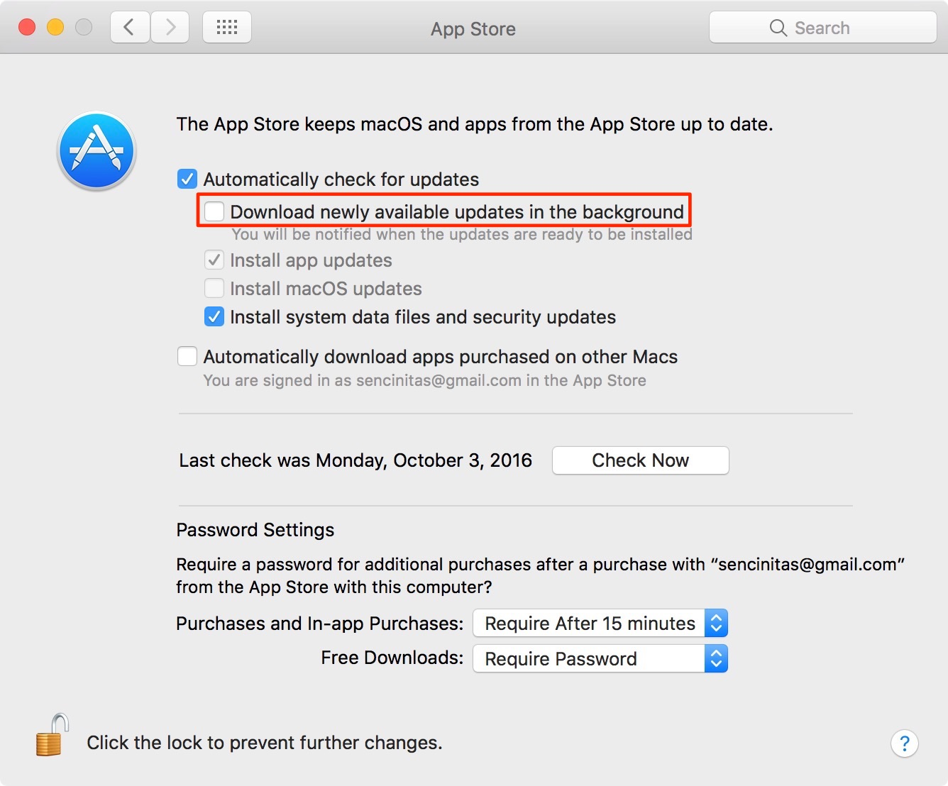 MacBook Air Mac App Store updates screenshot 002