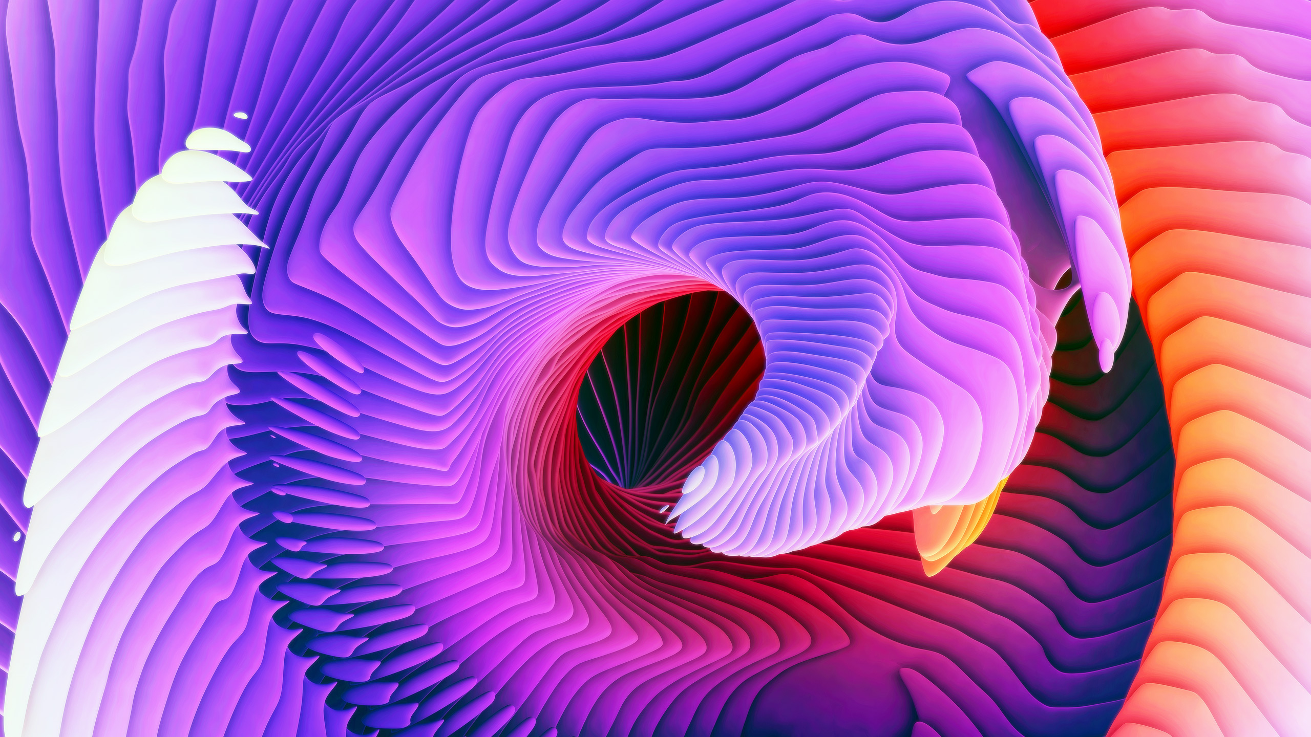 MacBook Pro Event Wallpaper ari weinkle Spiral_1B