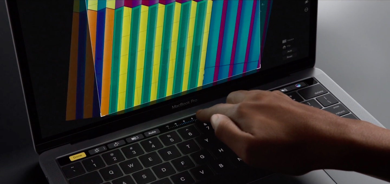 MacBook Pro Touch Bar Photos image 001