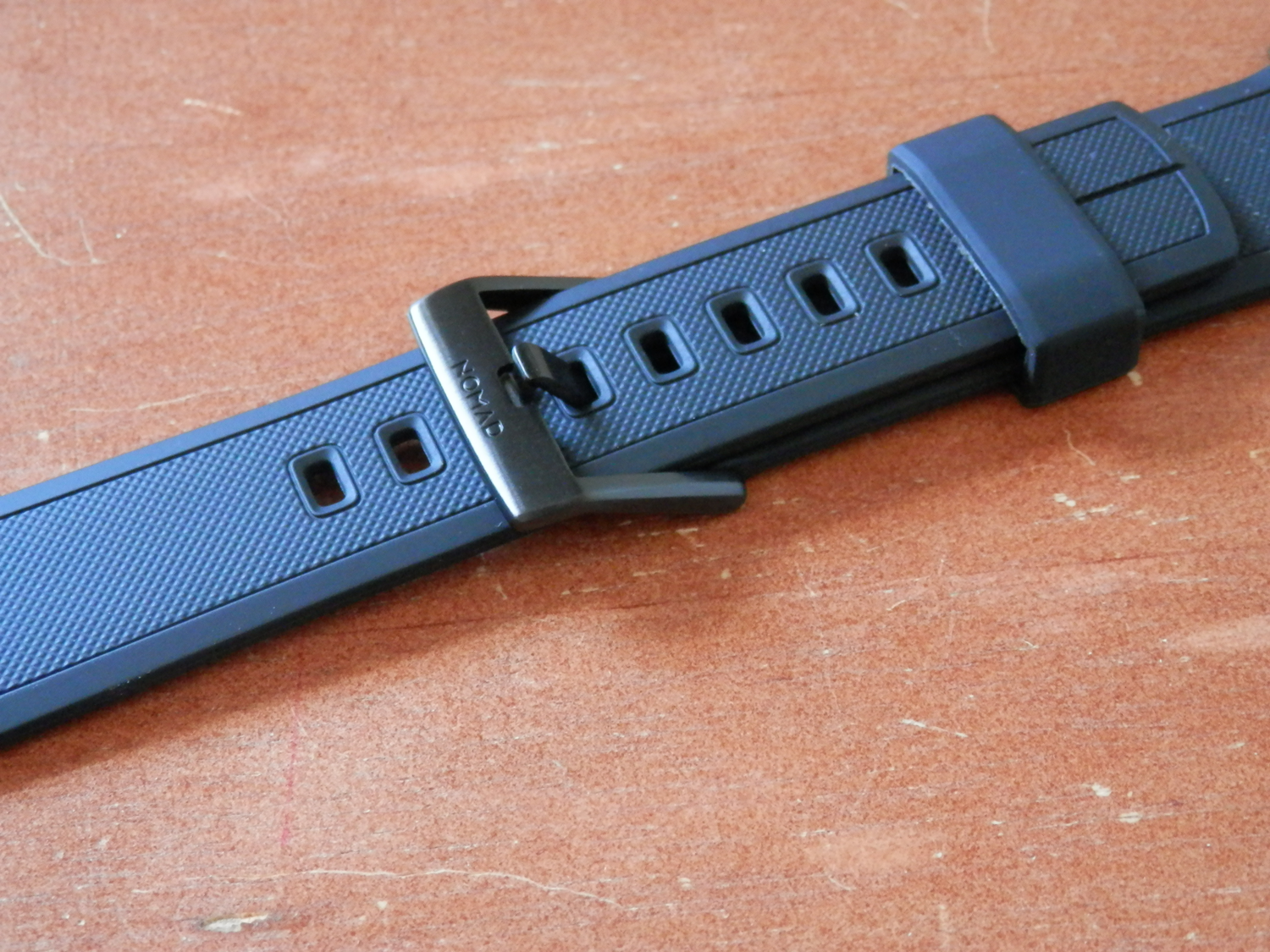 Nomad Silicone Apple Watch Band Strap