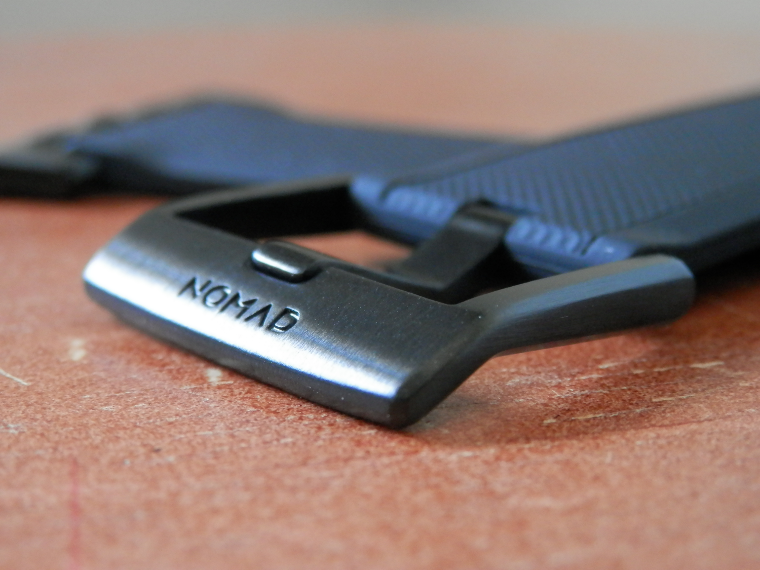 Nomad Silicone Apple Watch Strap Buckle