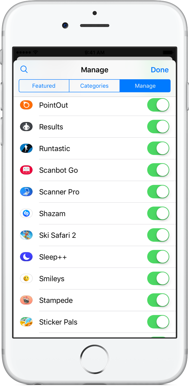 Shazam 10.1 for iOS iMessage app iPhone screenshot 001