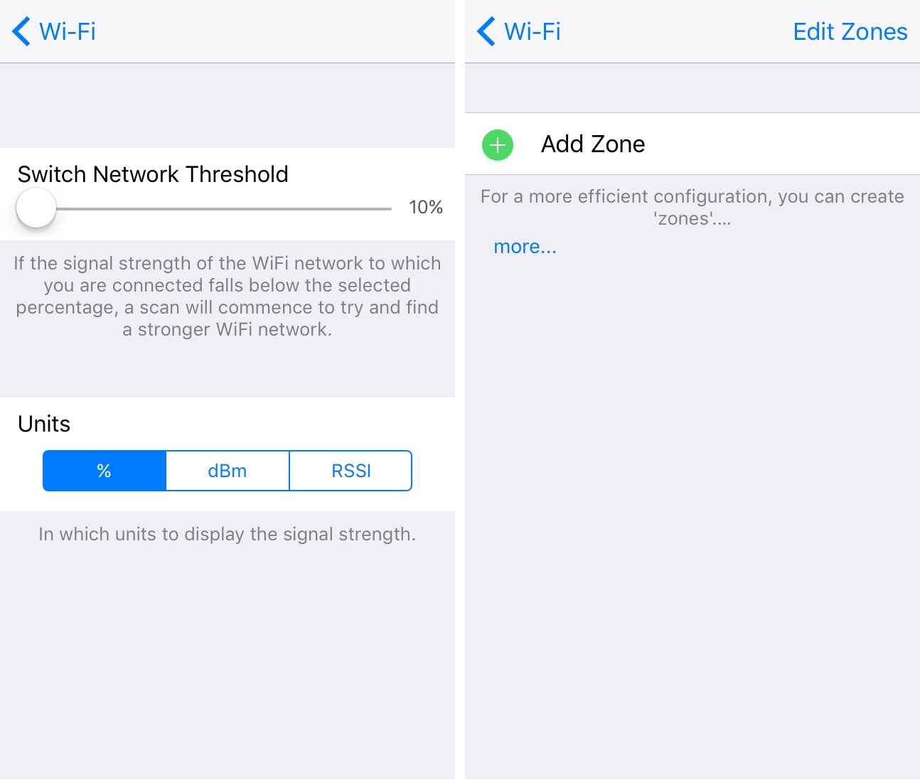 Wi-Fi the strongest link preferences pane 2