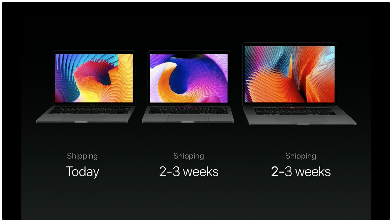 hello again event macbook pro availability
