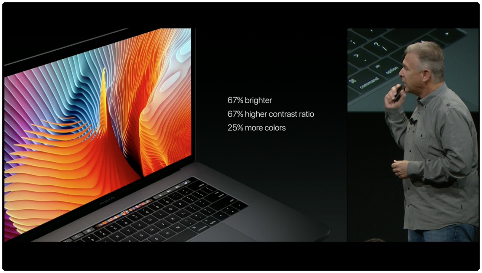hello again event macbook pro display