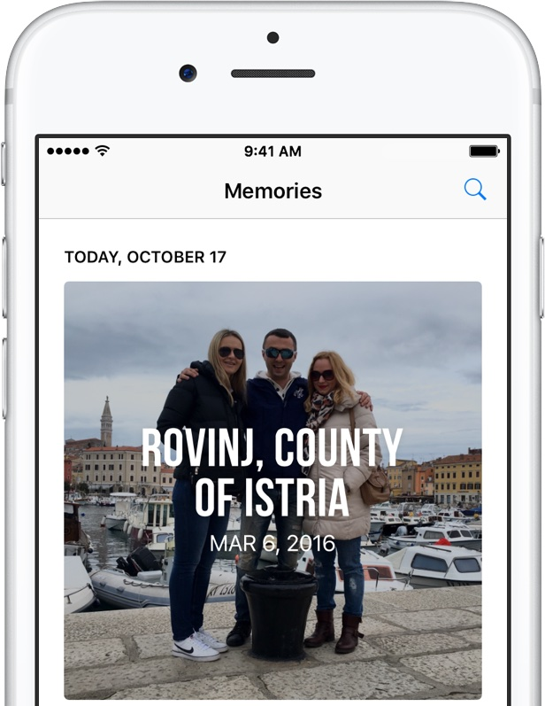 iOS 10 Memories crear iPhone captura de pantalla 001