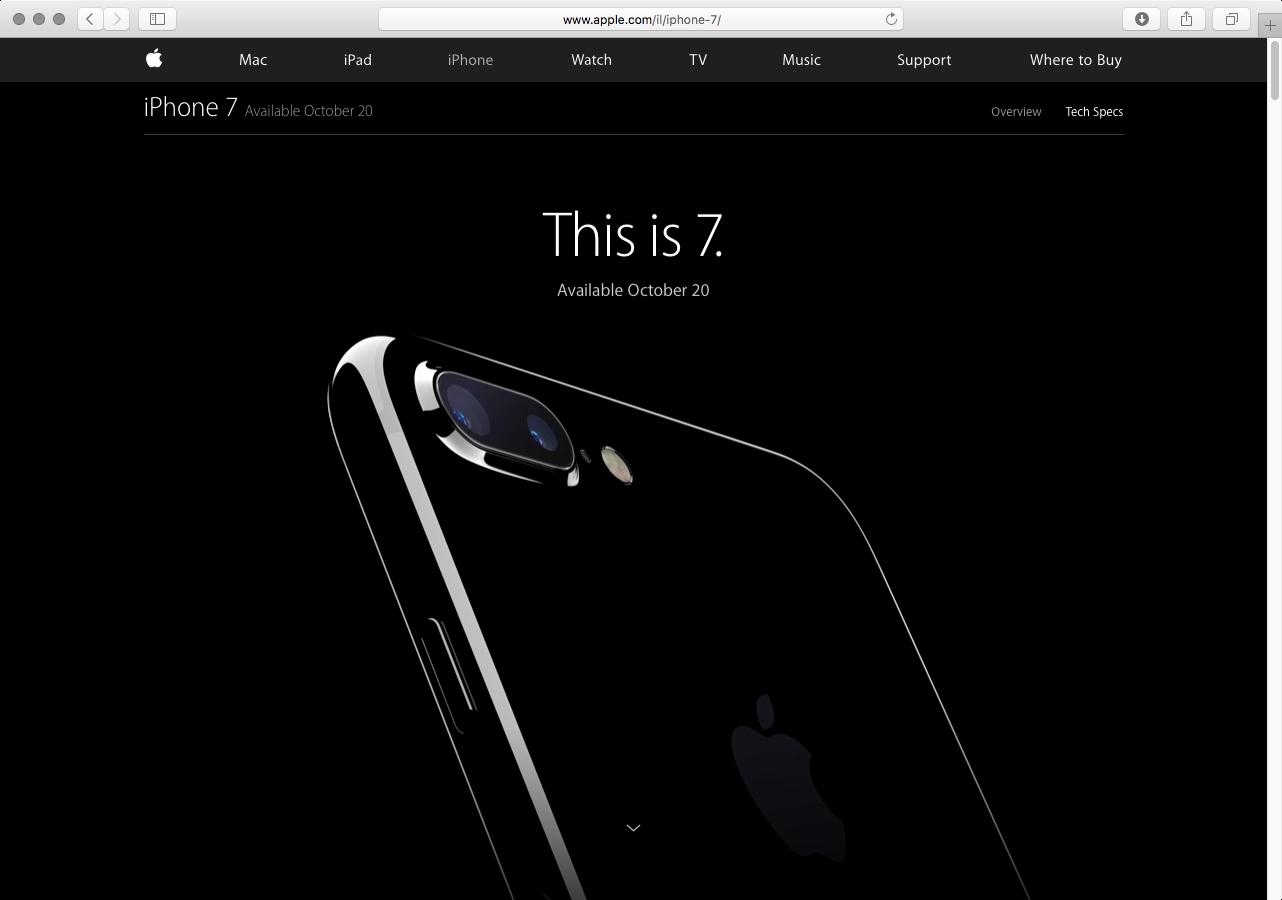iPhone 7 Israel October 20