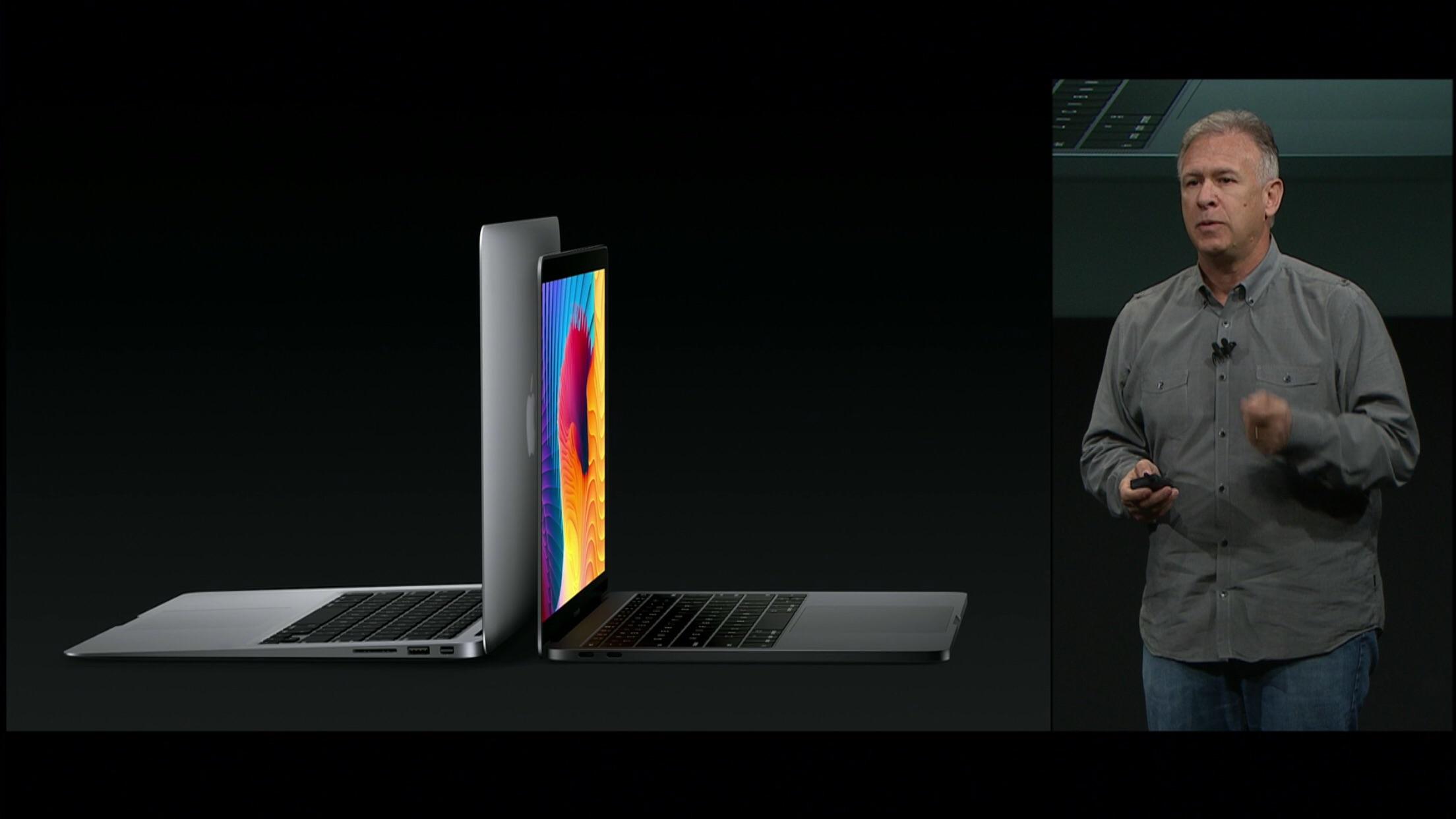 macbook pro v macbook air keynote