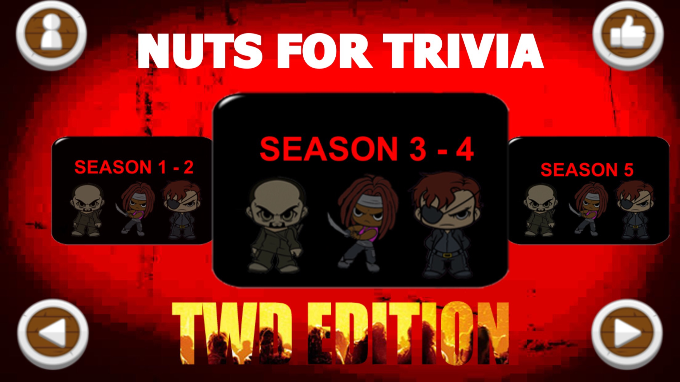 nuts for trivia walking dead