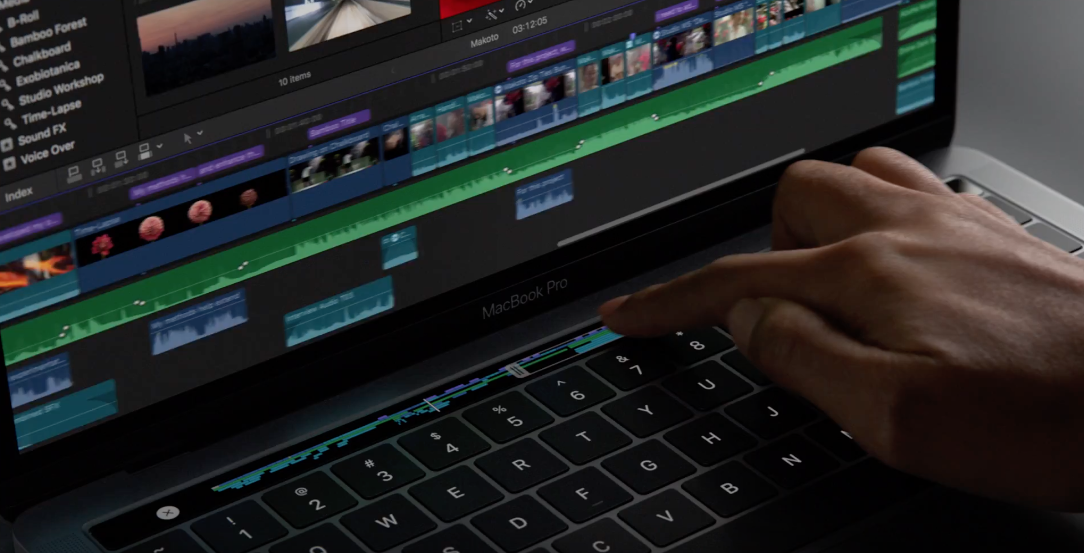 This is how you turn the new MacBook Pro on and off