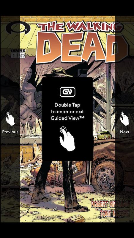 walking dead reader comics