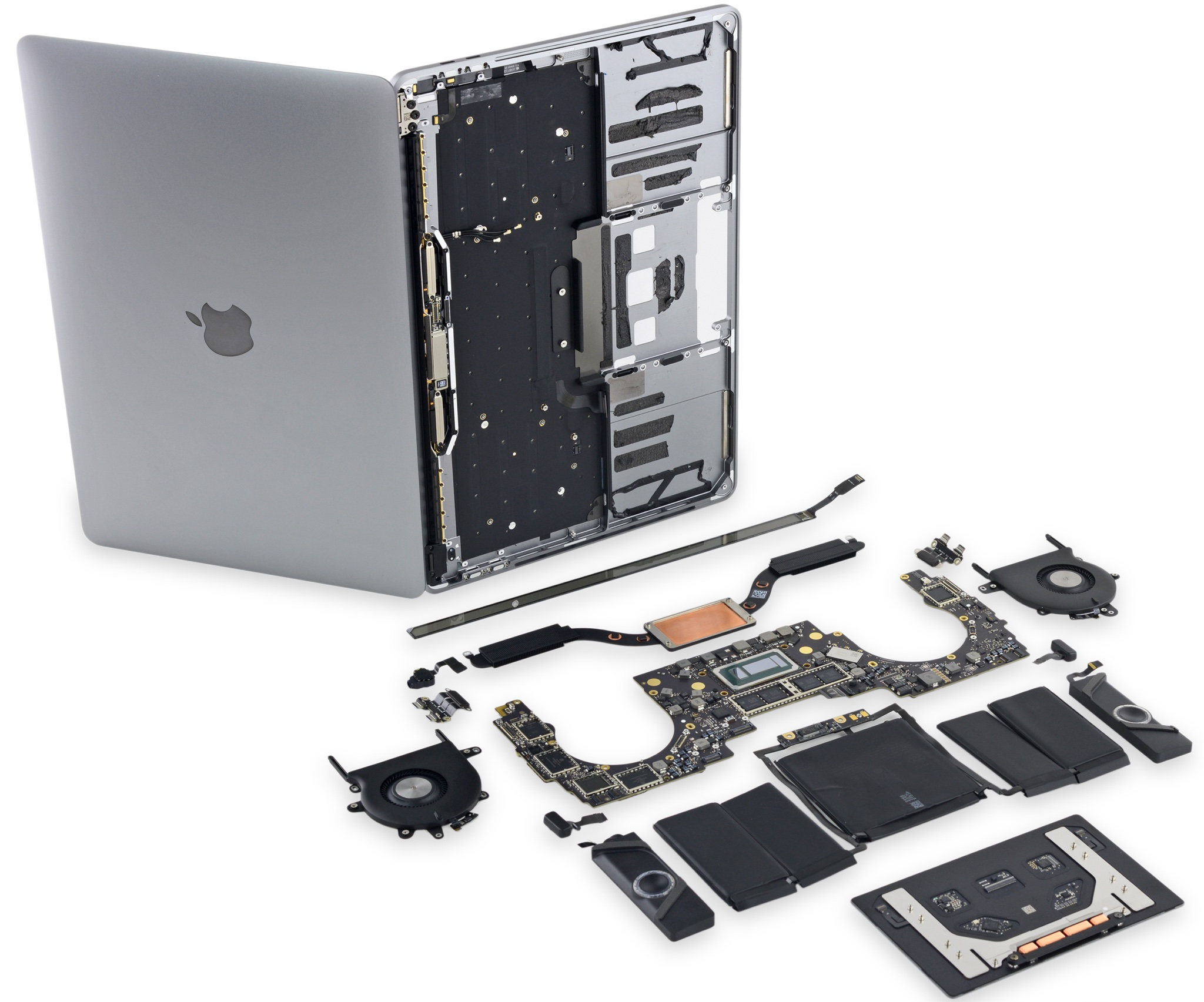 Teardown Of 13 Quot Macbook Pro With Touch Bar Reveals