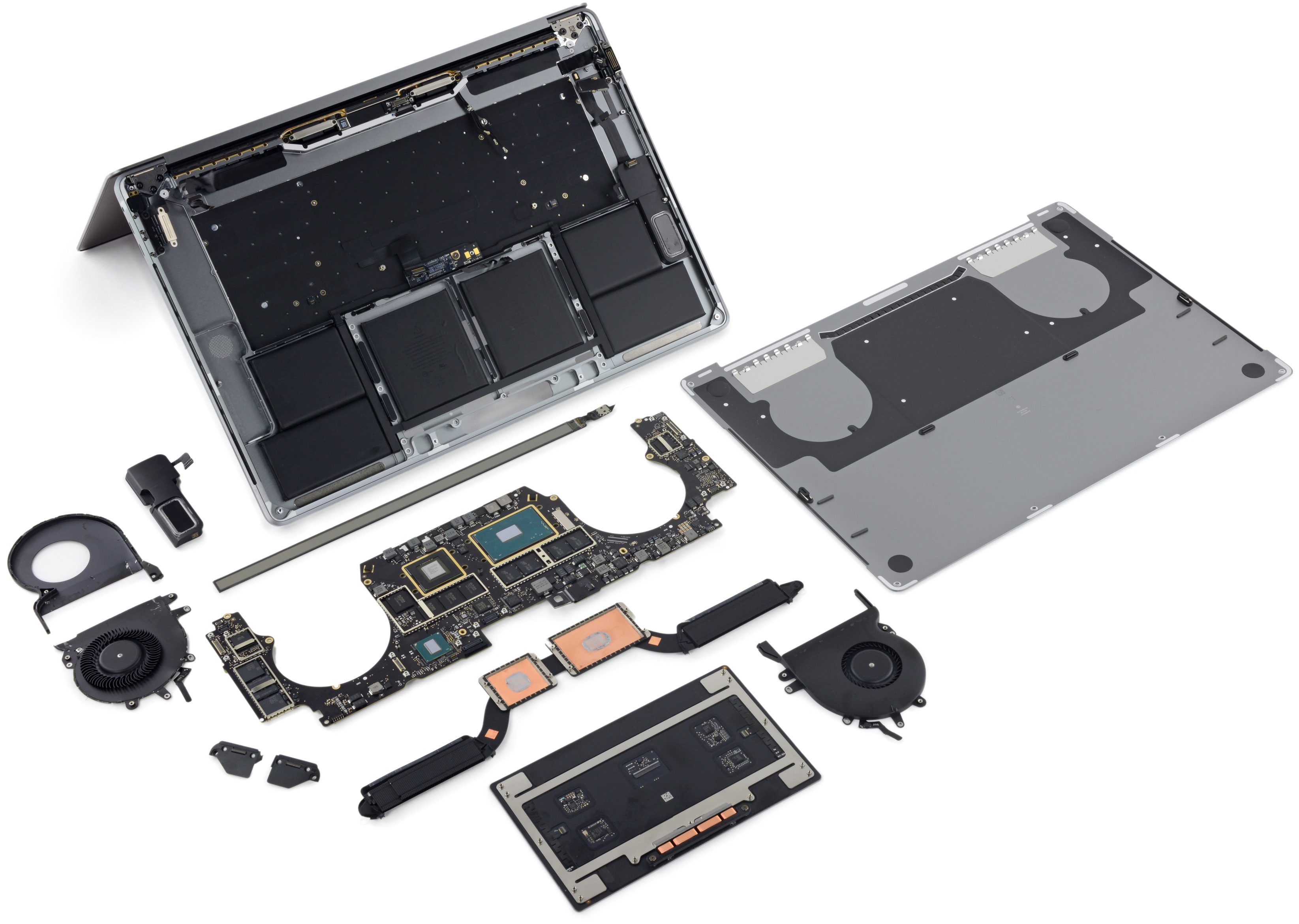 15 inch MacBook Pro with Touch Bar iFixit teardown 001