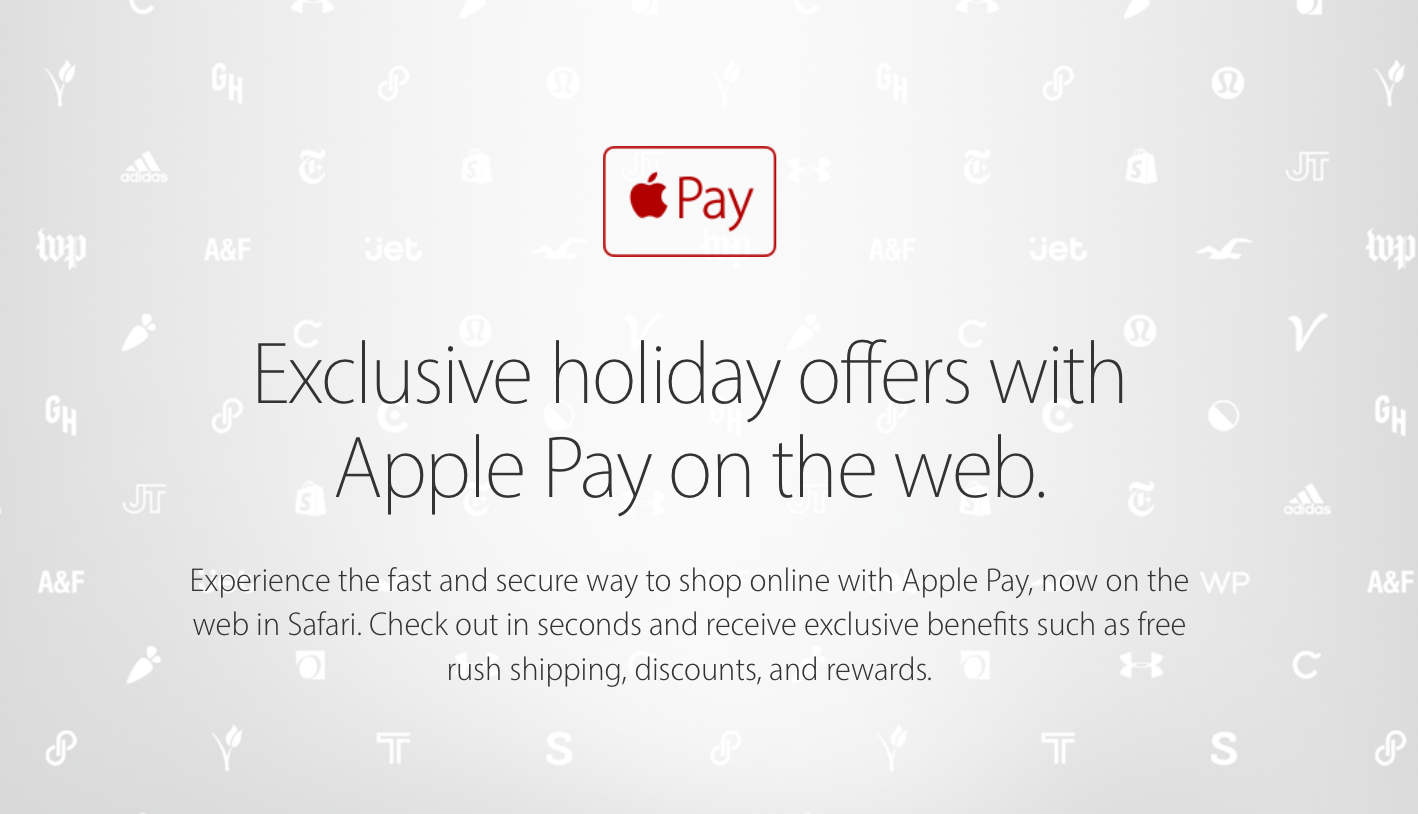 Apple Pay holiday 2016 offers web screenshot 001