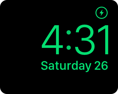 Nightstand Mode Apple Watch