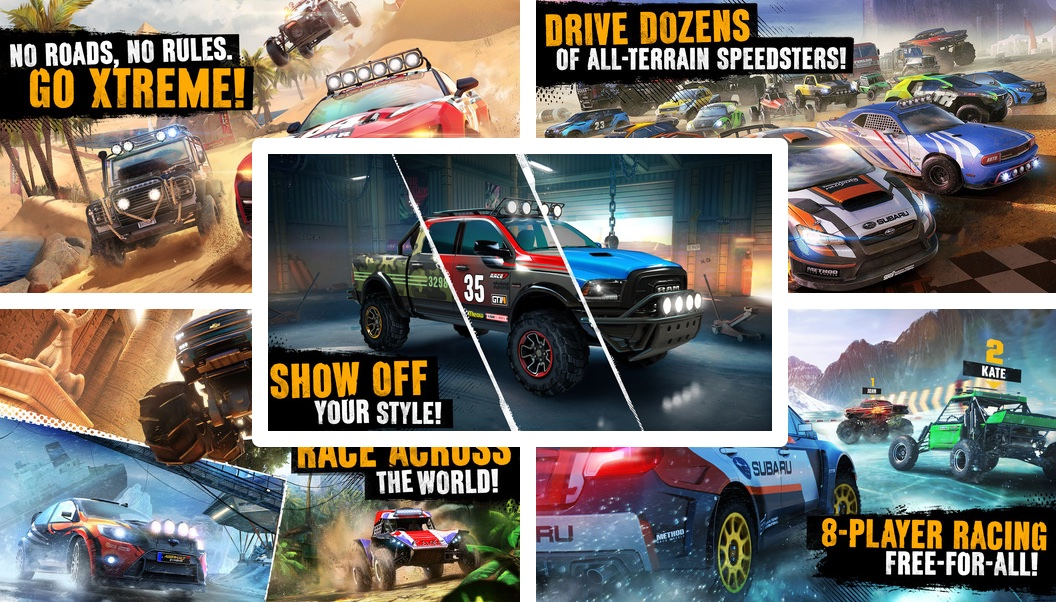 Gameloft S Asphalt Xtreme Screeches Its Way Into App Store