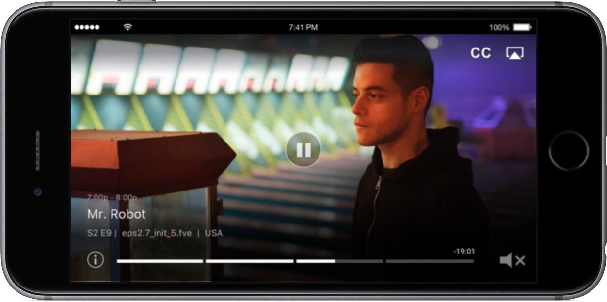 Captura de pantalla 001 de DirecTV NOW para iPhone