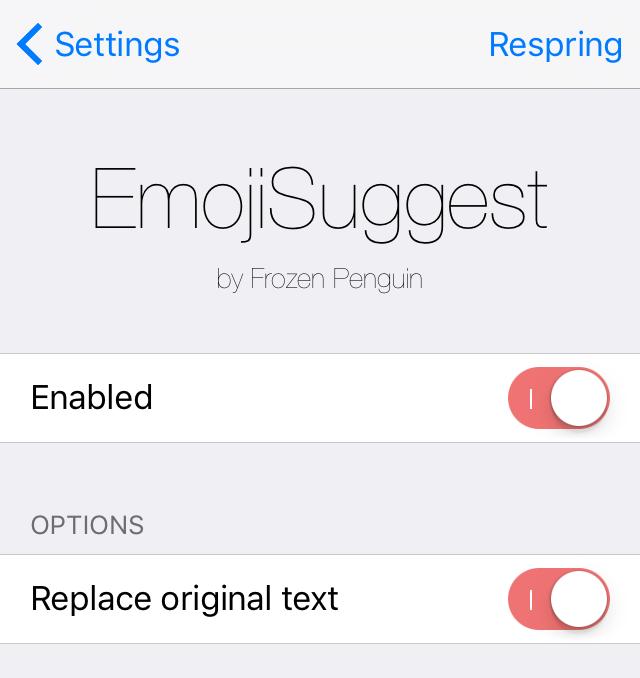 EmojiSuggest Prefs