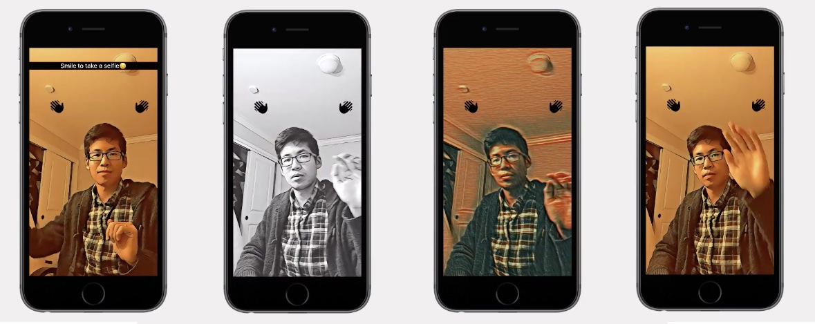 FAcebook AI photo video effects iPHone screnshoot 001