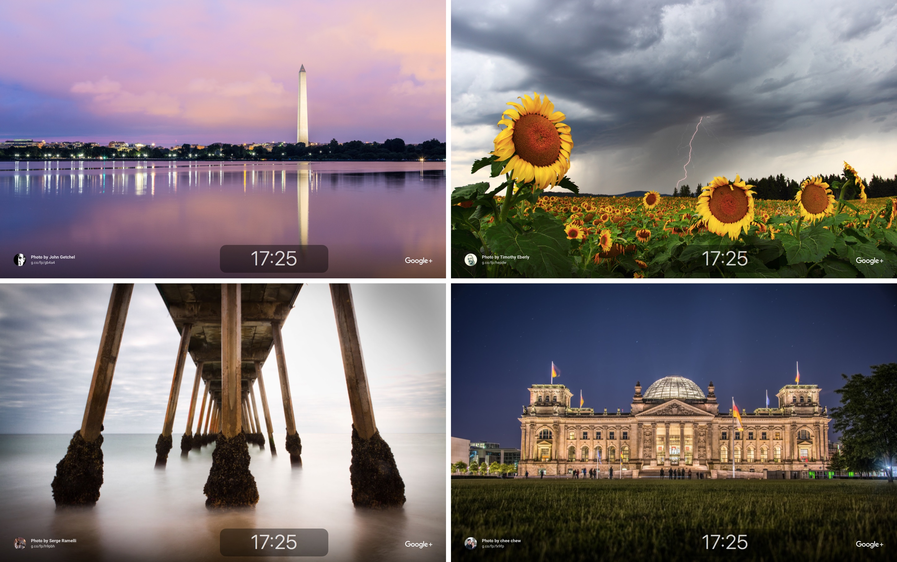 Google Featured Photos screen saver for macOS Mac screenshot 002