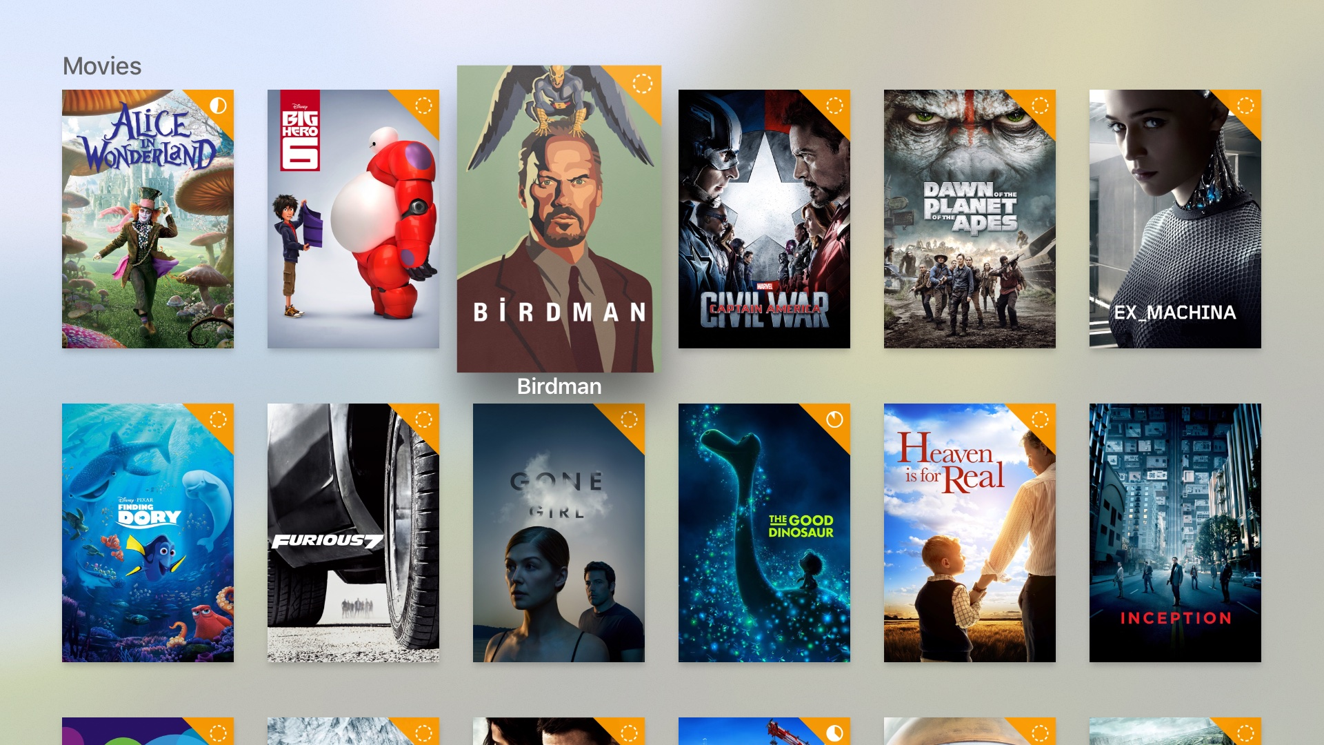Infuse 5 for tvOS Apple TV screenshot 001