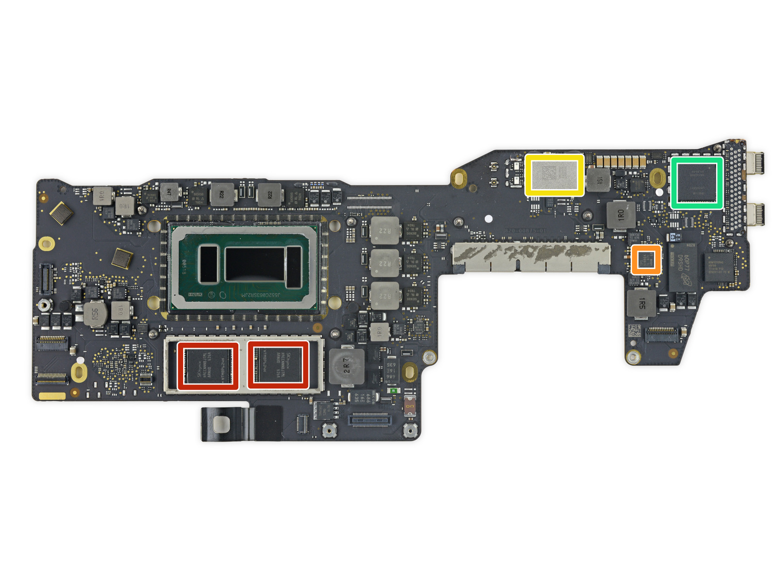 MacBook Pro 2016 No Touch Bar Logic Board