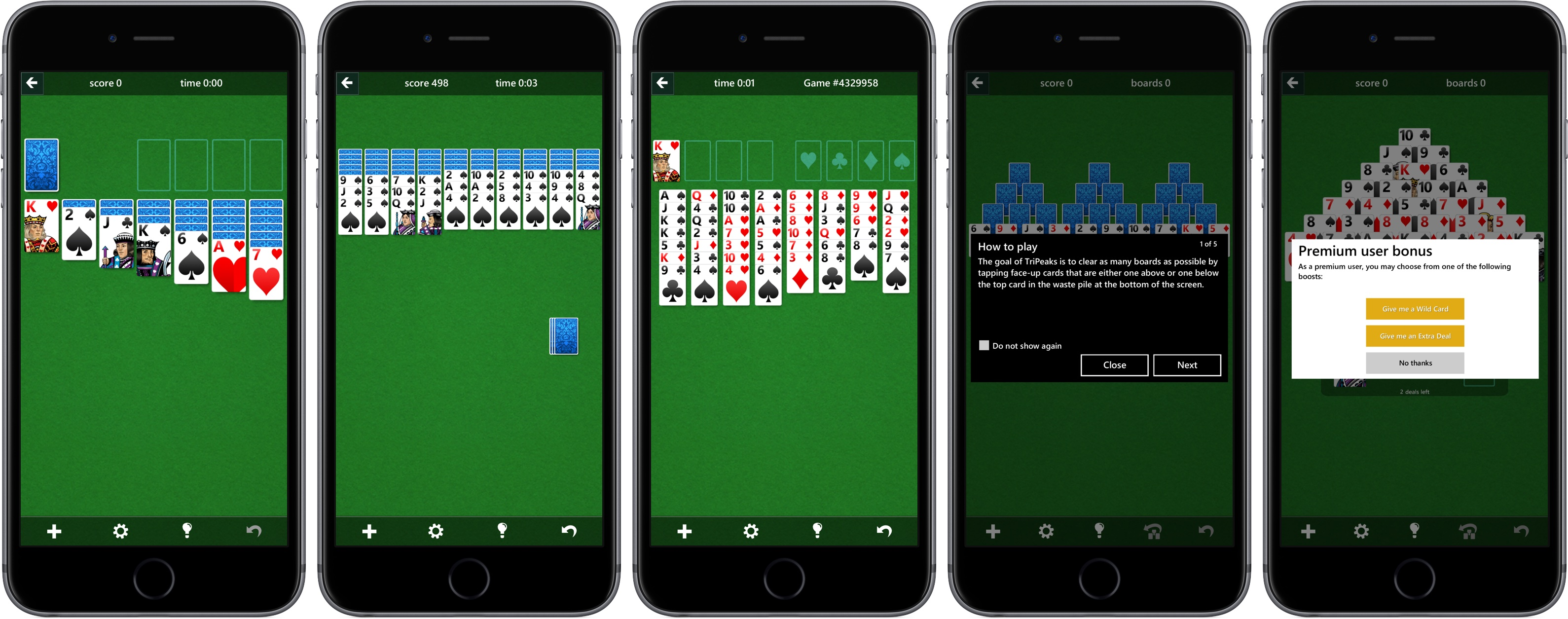 Microsoft Solitaire Collection for iOS iPhone screenshot 001