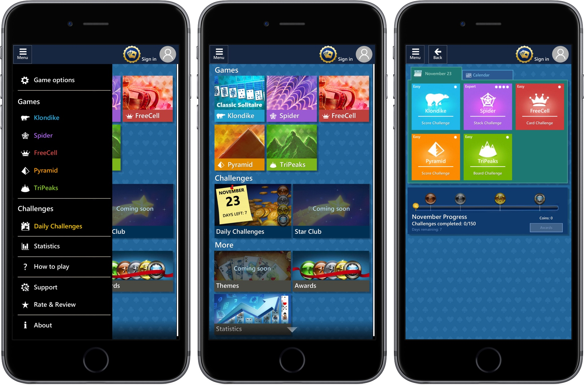 Microsoft Solitaire Collection for iOS iPhone screenshot 002