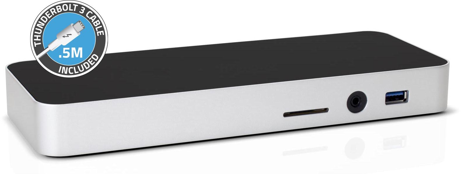 OWC Thunderbolt 3 Dock front