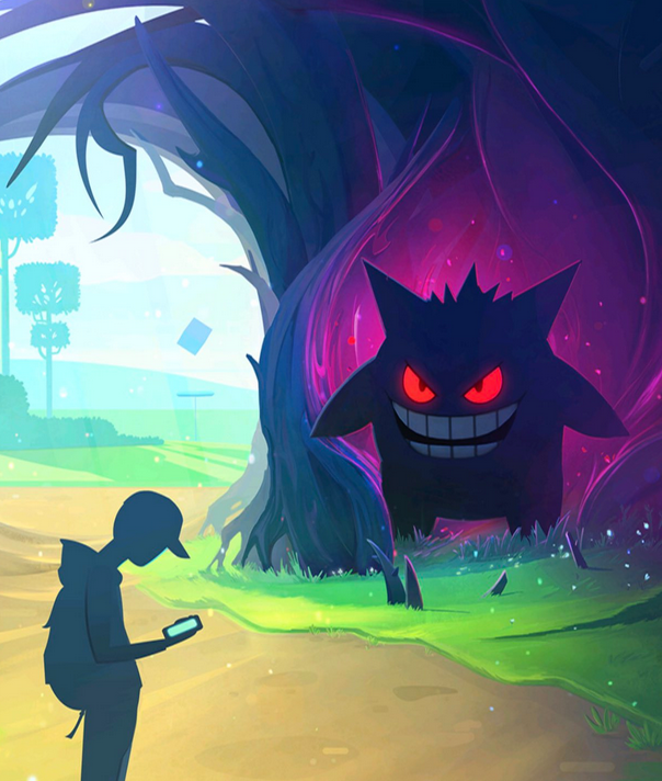 Pokemon GO splash screen Gengar