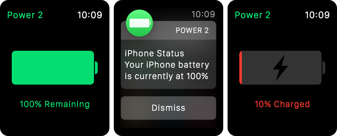 Power 2 app and notification