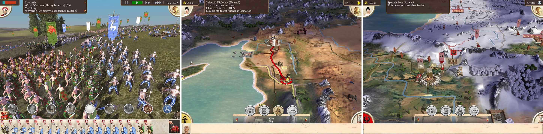 Rome Total War iPad screenshot 002