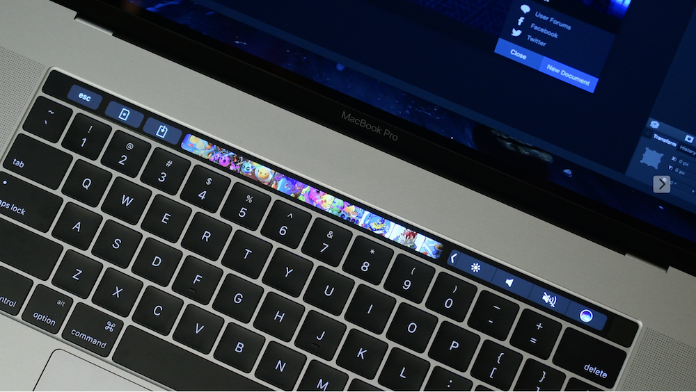 fix frozen touch bar
