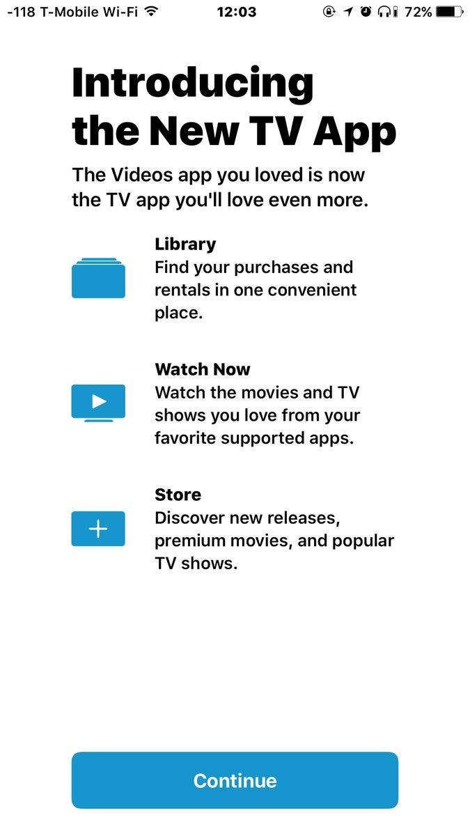 TV app beta 2