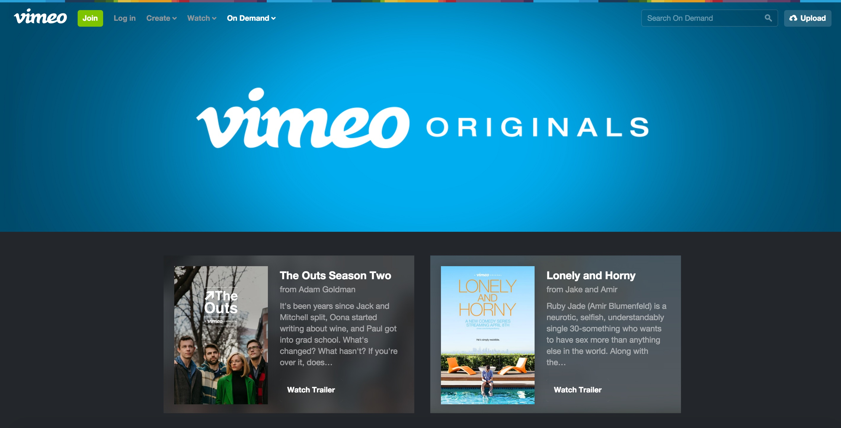 Vimeo Originals teaser