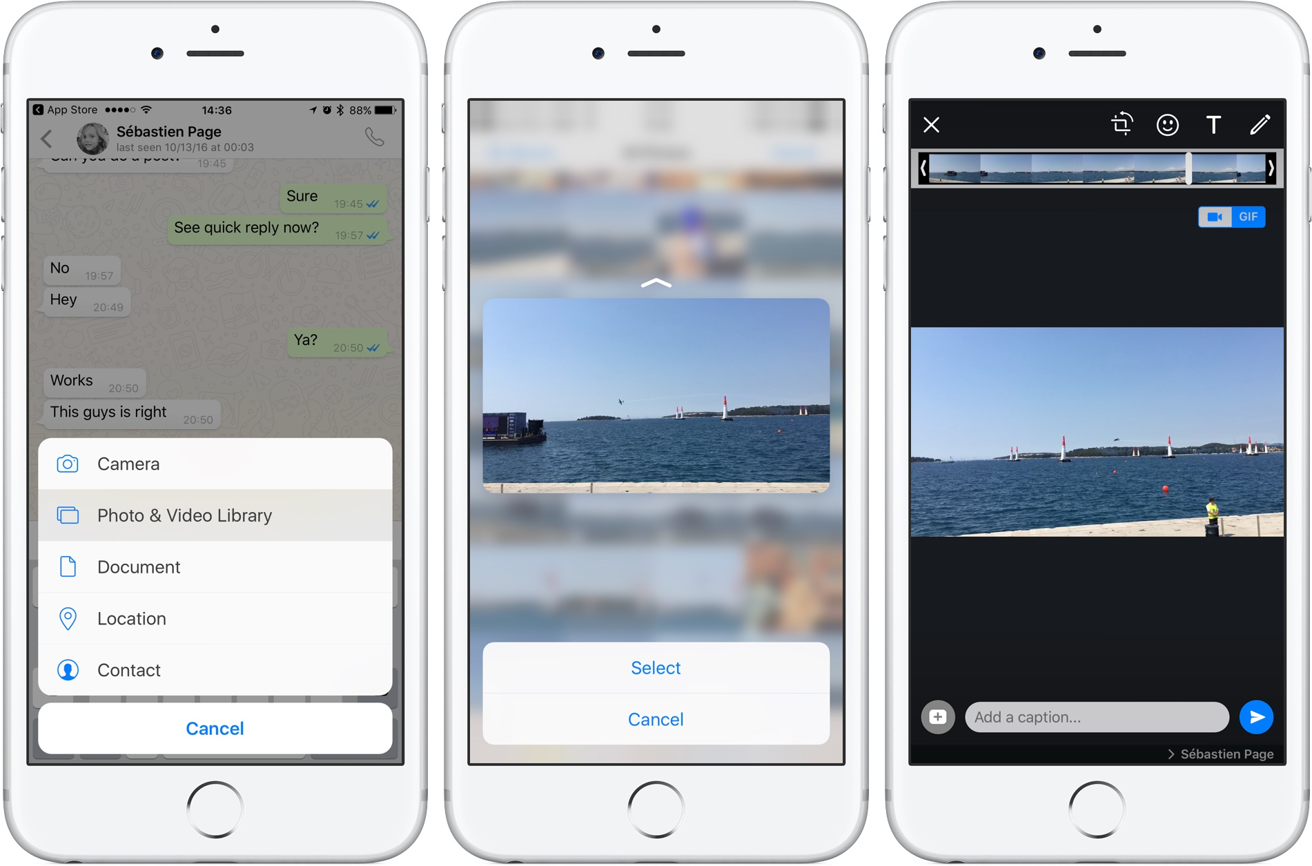 Whatsapp Now Lets You Send Short Videos Or Live Photos As Animated Gifs