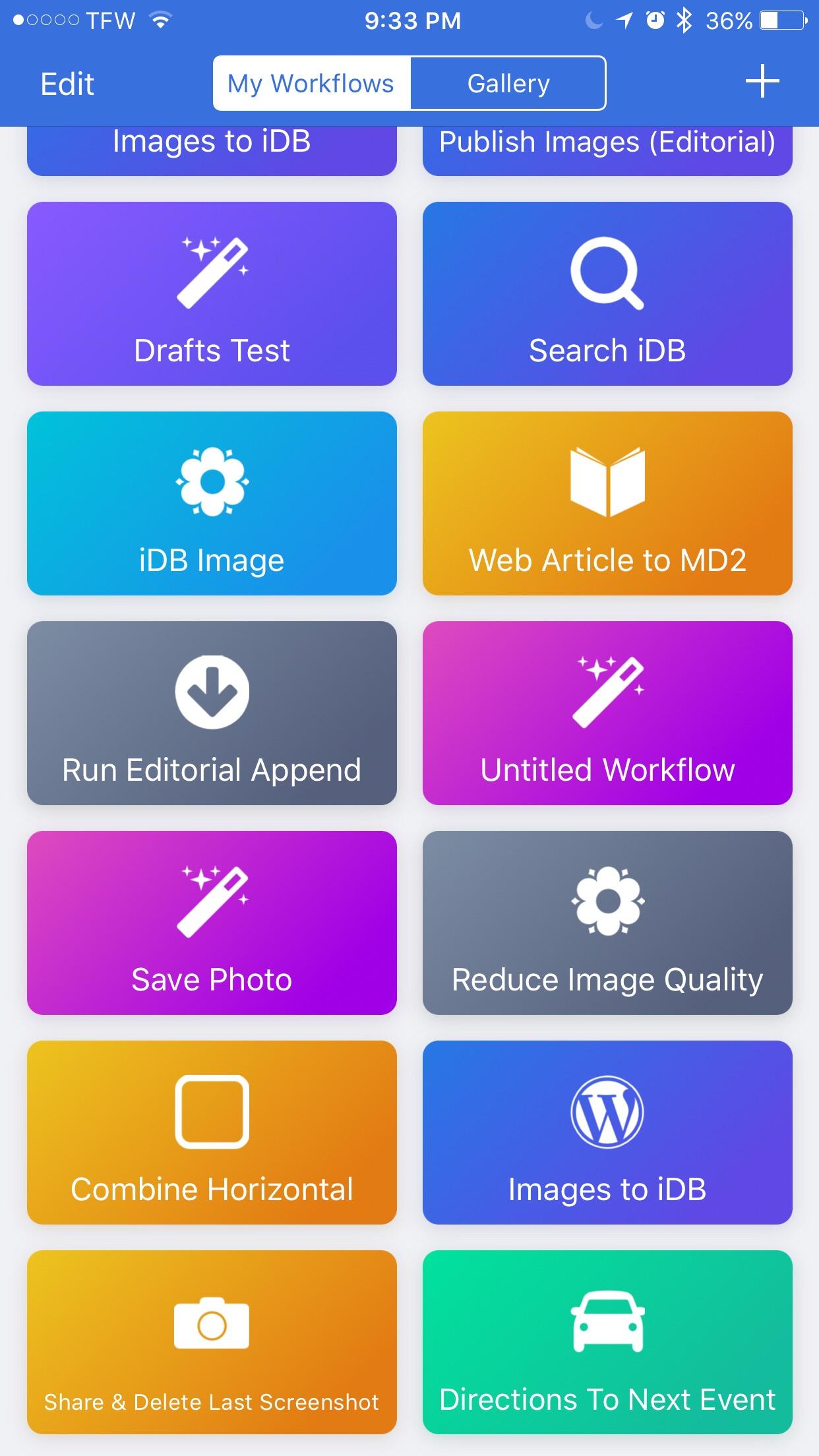 Workflow redesign 2