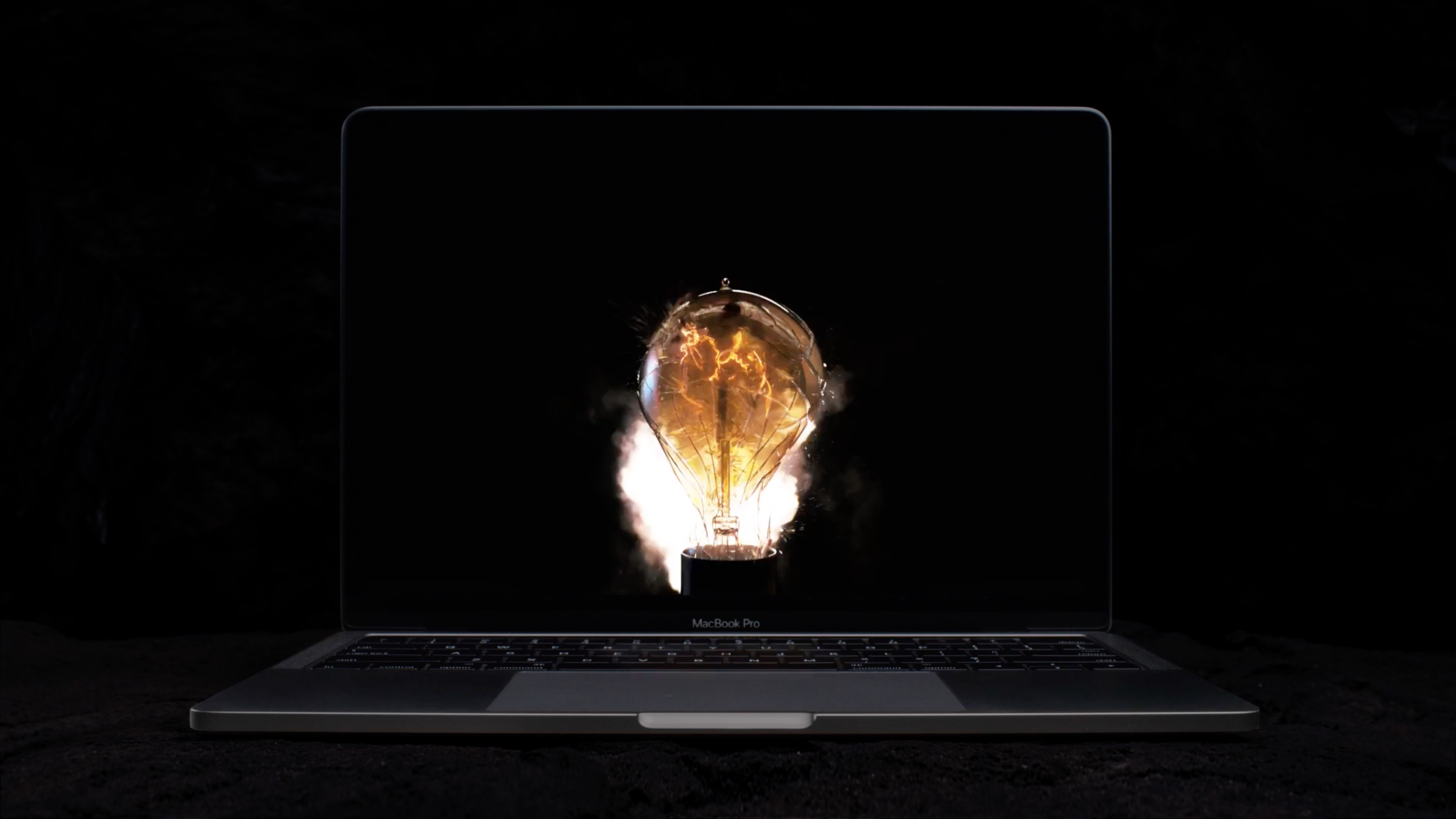 apple macbook ad bulbs