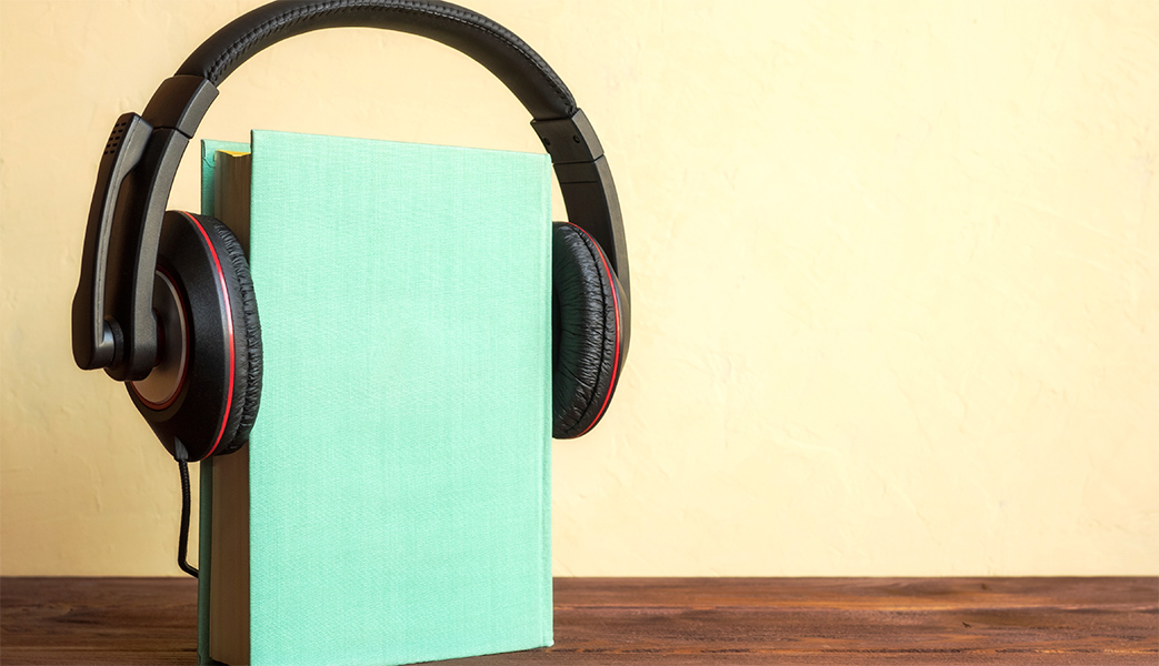 Turn music tracks into audiobooks