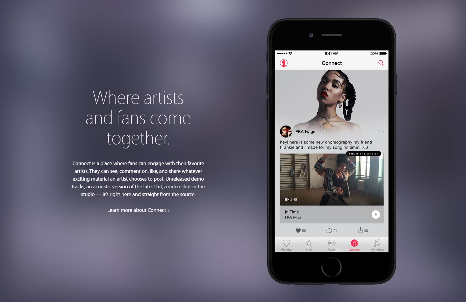 connect ios9 apple music