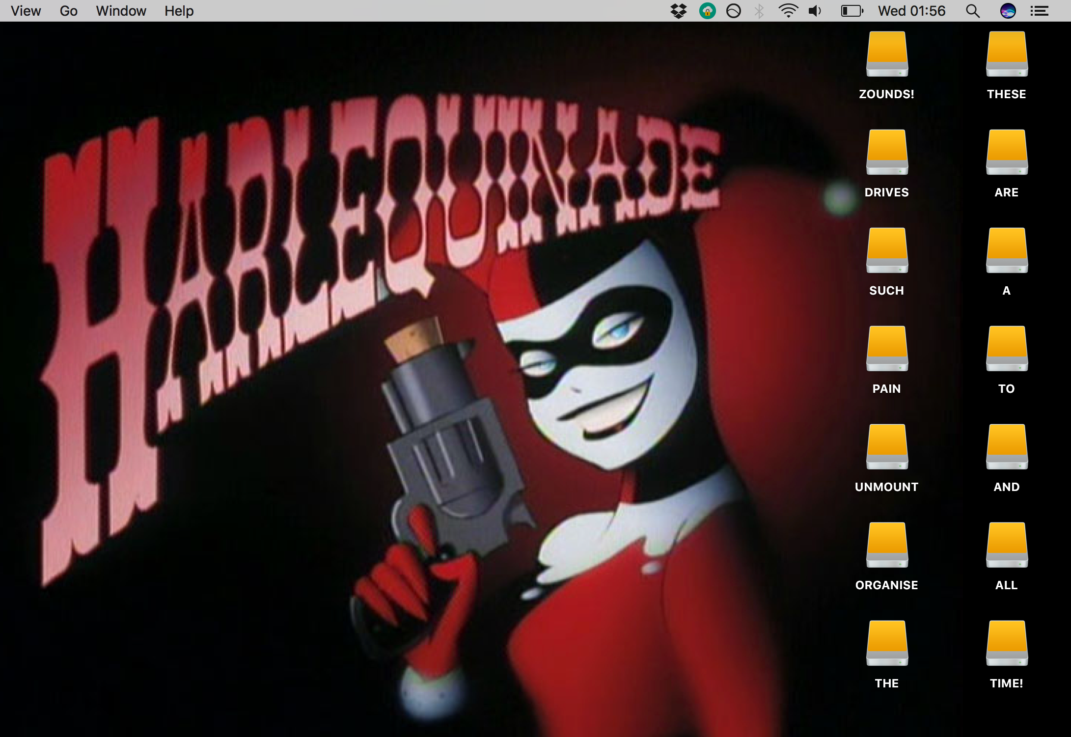 desktop drive icons