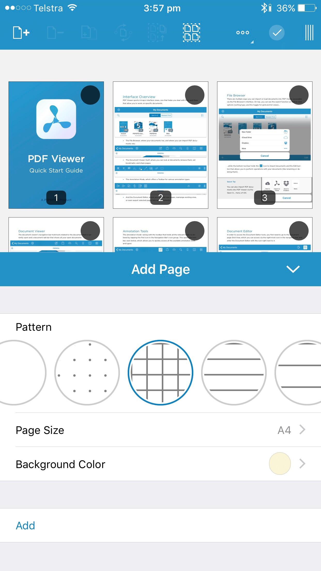 pdf viewer app ios